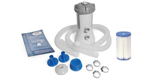 Intex Filterpumpe 2271 - Verpackungsinhalt