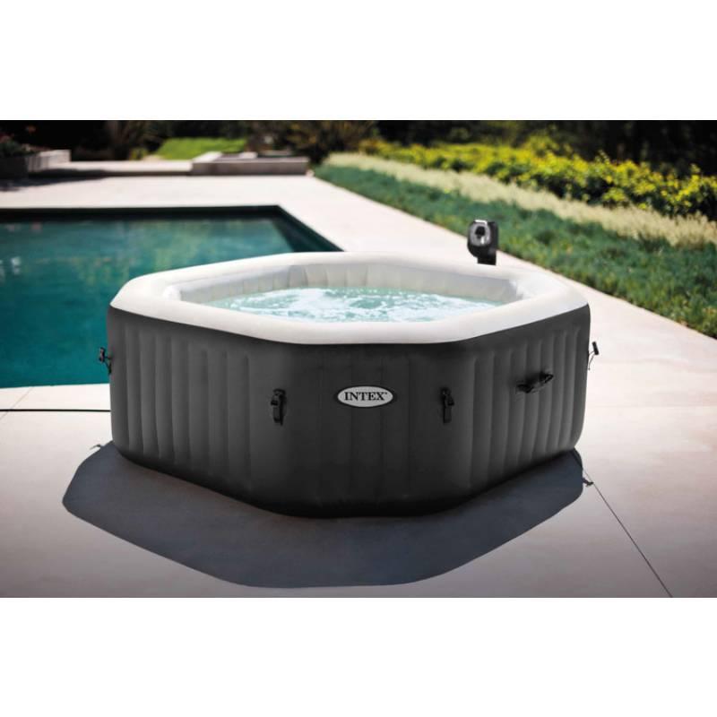 Intex Pure Spa Jet & Bubble Deluxe Whirlpool Salzwassersystem 6 ...