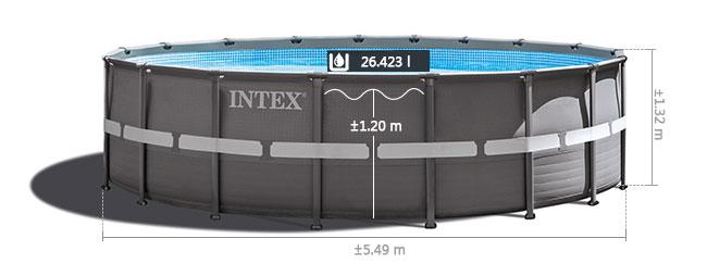 Intex Ultra Frame Pool liner