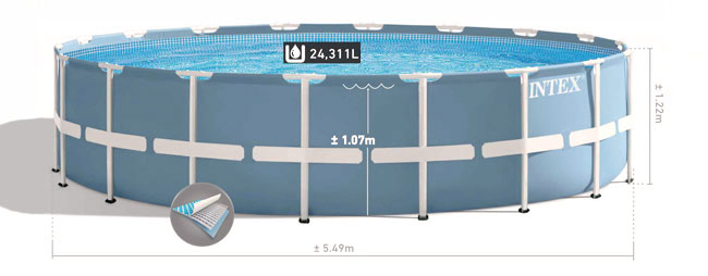 Intex Prism frame pool 450