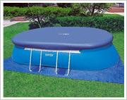 Intex Oval Frame Pool Abdeckplane und Bodenplane