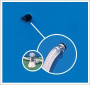 Intex Metal Frame Pool Filterpumpe Schlauchanschluss