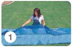 Opzetten Intex Easy Set Pool - stap 1