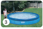 Intex Easy Set Pool opzetten stap 3