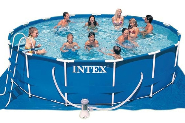 Intex metal frame pool 450