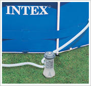 Intex Metal Frame Pool Filterpumpe