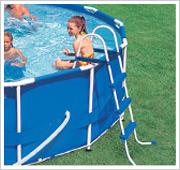 Intex Metal Frame Pool Leiter