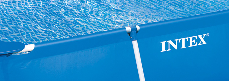 Intex metal frame pool uitsnede