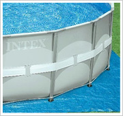 Intex Ultra Frame Pool Bodenplane