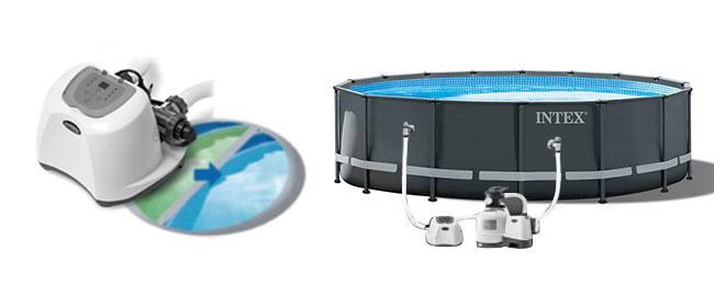 intex salzwassersystem bis liter. Black Bedroom Furniture Sets. Home Design Ideas
