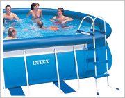 Intex Oval Frame Pool Leiter