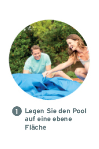 Intex Metal Frame Pool opzetten stap 1