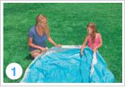 Intex Quick Up Pool Aufbauen 1