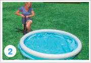 Intex Quick Up Pool Aufbauen 2