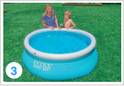 Intex Quick Up Pool Aufbauen 3