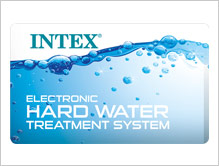 The only inflatable spa with built in Hard Water Treatment system