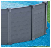 Intex Graphite Panel Pool grondzeil