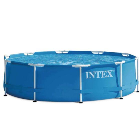 Intex Metal Frame Pool O 305 Cm Top Poolstore