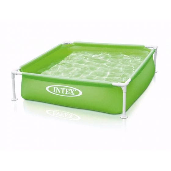 Intex-Mini-Frame-Pool-Grün-122-x-122-cm