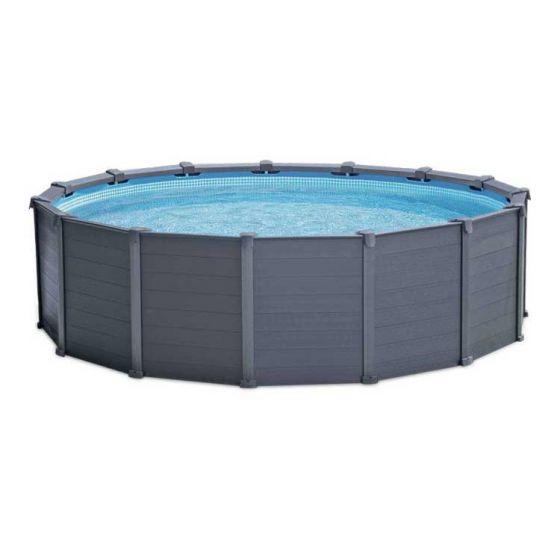 Intex-Graphite-Panel-Pool-Ø-417cm-(Set)