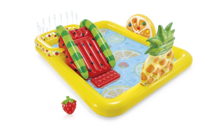 Intex-Kinder-Pool---Play-Center-Fun-&-Fruity-(244-x-191-x-91-cm)