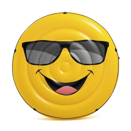 INTEX™-Luftbett-Smiley-Cool-Guy-Insel