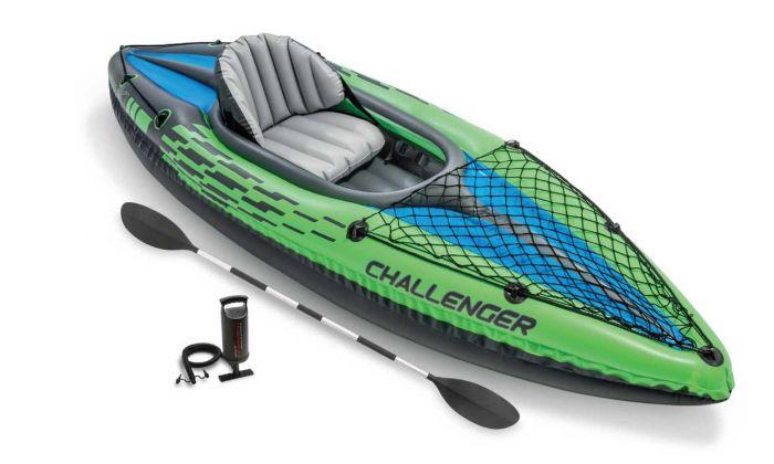 Schlauchboot-Intex---Challenger-K1-Kajak