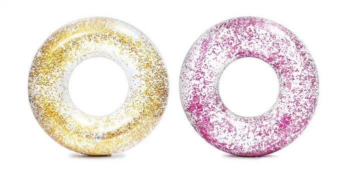 INTEX™-Schwimmreifen-Transparent-Glitter