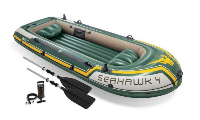 Schlauchboot Intex Seahawk 4 Set Top Poolstore