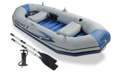 INTEX™-Aufblasboot---Mariner-3-Set