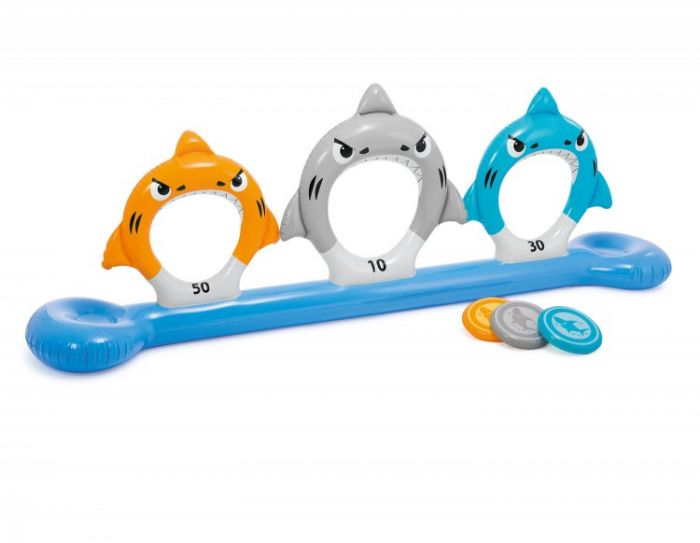 INTEX™-Pool-Spiel-–-Feed-the-Sharks-Disc-toss