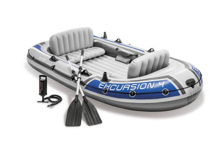 Schlauchboot-Intex---Excursion-4-Set