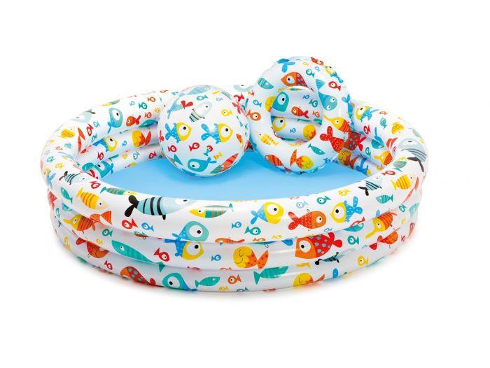 INTEX™-Kinderschwimmbad-–-Fishbowl-Pool-Set