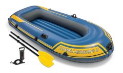 Schlauchboot-Intex---Challenger-2-Set