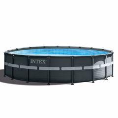 Intex Ultra XTR Frame Pool Ø 549 cm x 132 cm (Set Inkl. Sandfilteranlage)