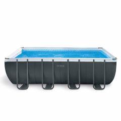 Intex Ultra XTR Quadra Frame Pool 549 x 274 x 132 cm (Set Inkl. Sandfilteranlage)