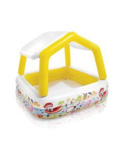 Intex Kinderpool – Sun Shade Pool (abnehmbares Dach)