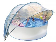 Schwimmbad-Solarzelt