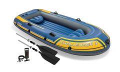 Schlauchboot-Intex---Challenger-3-Set