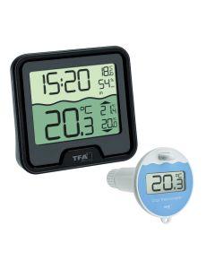 Schwimmbadthermometer TFA Dostmann MARBELLA