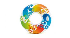 Intex-Schwimmreifen--Color-Whirl