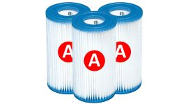 Intex Filterpatrone Typ A - 3 Stück