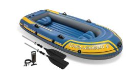 Schlauchboot-Intex---Challenger-3-Set