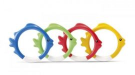 INTEX™ Fun Tauchringe Fischmotiv