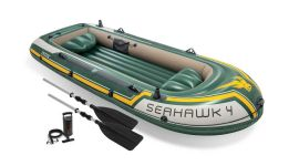Schlauchboot-Intex---Seahawk-4-Set