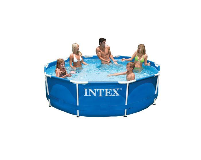 Intex metal frame pool 305 cm for Intex pool angebote
