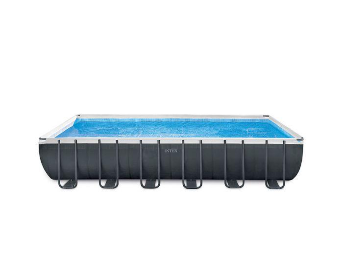 Intex Ultra XTR Quadra Frame Pool 732 x 366 x 132 cm (Set Inkl. Sandfilteranlage)