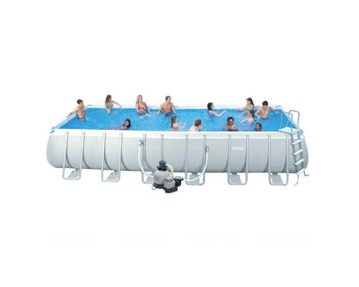 Intex Ultra Quadra Frame Pool 732 x 366 x 132 cm (Set)