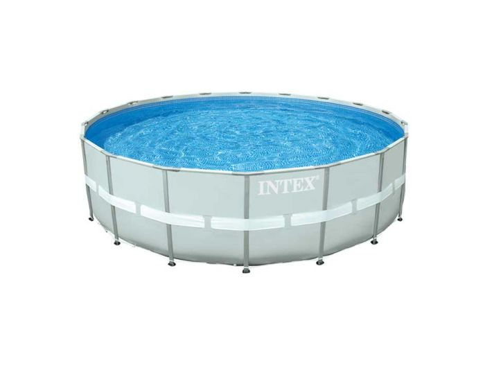 Intex Ultra Frame Pool Ø 549 cm x 132 cm (Set Inkl. Sandfilteranlage)