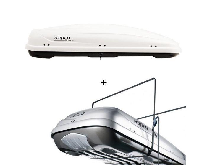 Dachbox Hapro Traxer 6.6 weiß - 410 L Gepäckbox